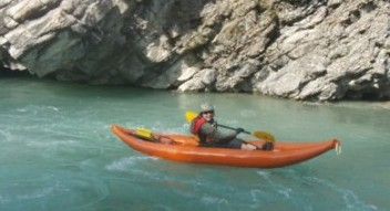 Guided Kayaking tours on the Kananaskis and Bow River near Canmore, Alberta
