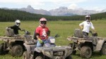 ATV tours in Canmore, Alberta