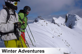 Winter sightseeing tours, activities and attractions in the Canadian Rockies