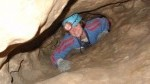 Guided cave tours at the Rat's Nest Cave in Canmore, Alberta