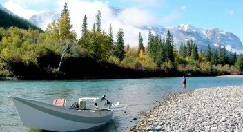Guided fishing trips in the Canadian Rockies near Banff National Park