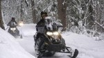 Snowmobile tours in Golden, British Columbia near Banff and Canmore